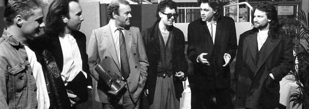 U2 -Milk Music Awards -Salle de concert nationale -Dublin 13/03/1986