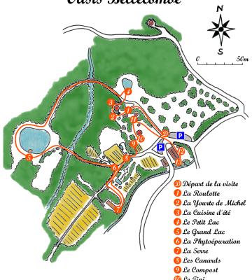 l'Oasis Bellecombe à LA MOTTE CHALANCON 26 (Drôme provençale)