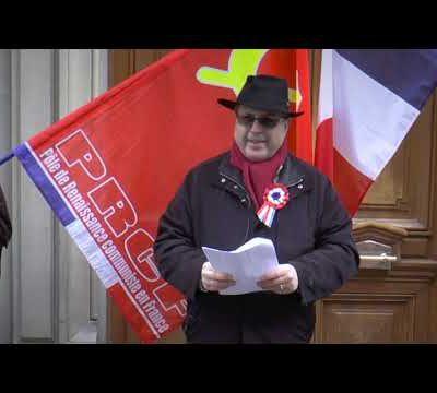 Hommage au Conseil National de la Résistance