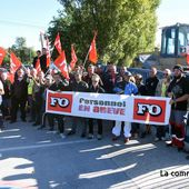 Bas-en-Basset : les salariés de Bonna Sabla bloquent leur entreprise - La Commère 43