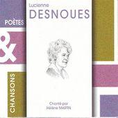 Hélène Martin : Poetes & chansons - lucienne desnoues - écoute gratuite et téléchargement MP3
