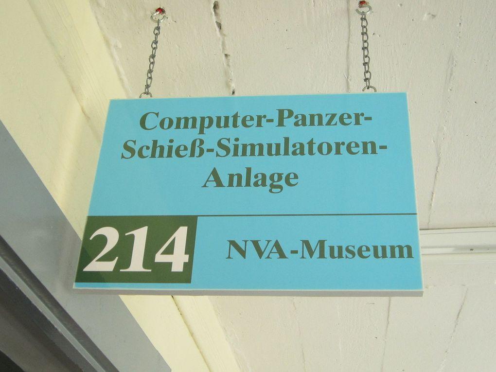 Utlisation comme base secrète d'entrainement par l'armée de la RDA, (NVA) avec haute technologie des années 70.