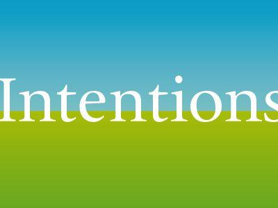 Tout dépend de l'intention...