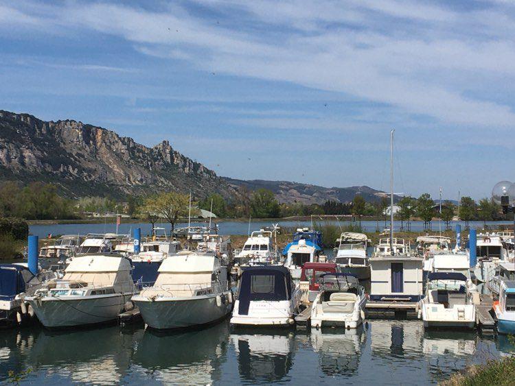 Valence : le port fluvial de l'Epervière