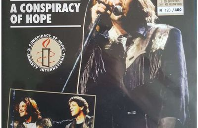 U2 -A Conspiracy of Hope Tour 1986 en vidéo concerts.