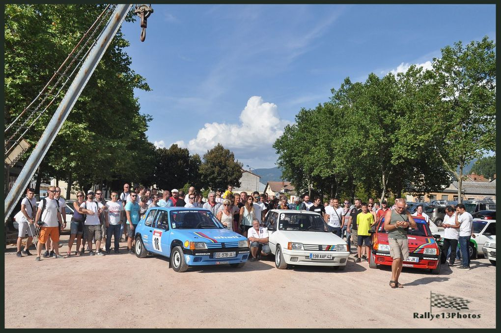 Concentr'nationale 2016 du 205 Rallye Club de France