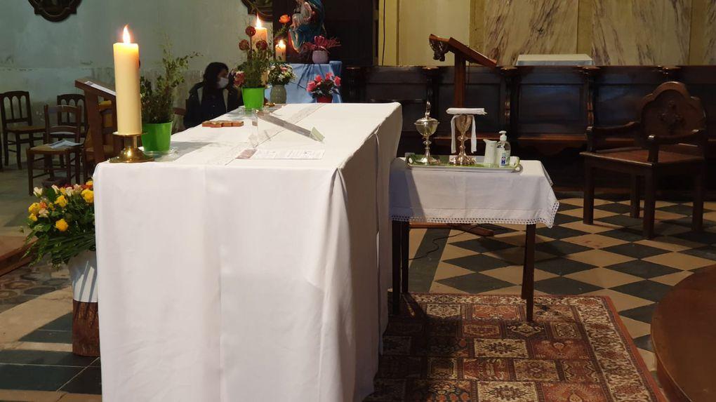 18 octobre : Messe internationale