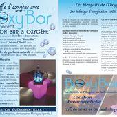 Bar à Oxygène BIOXY ' BAR - #bien-être