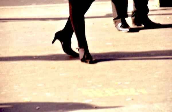 femme chaussures talons noir