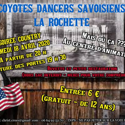 BAL COUNTRY 18 AVRIL 2020 - ANNULEE SUITE DIRECTIVES D'ETAT