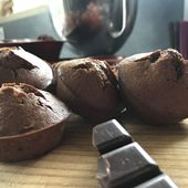Muffins au chocolat comme un gâteau au yaourt - Ma vie à Sauternes