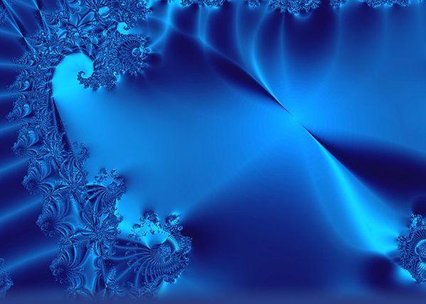 Bleu feu ?