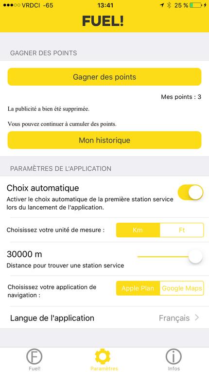 #Application : Sortie de l' application #Fuel! sur #iPhone !!