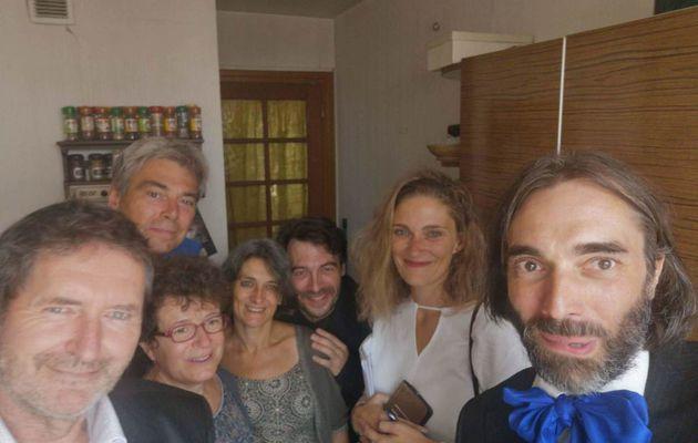 Villani, Maud Vergnol, Claire Hocquet, Sylvie Thénault, et moi...