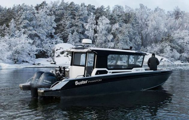 A luxury Cabin Commuter in the Buster Boats's Range