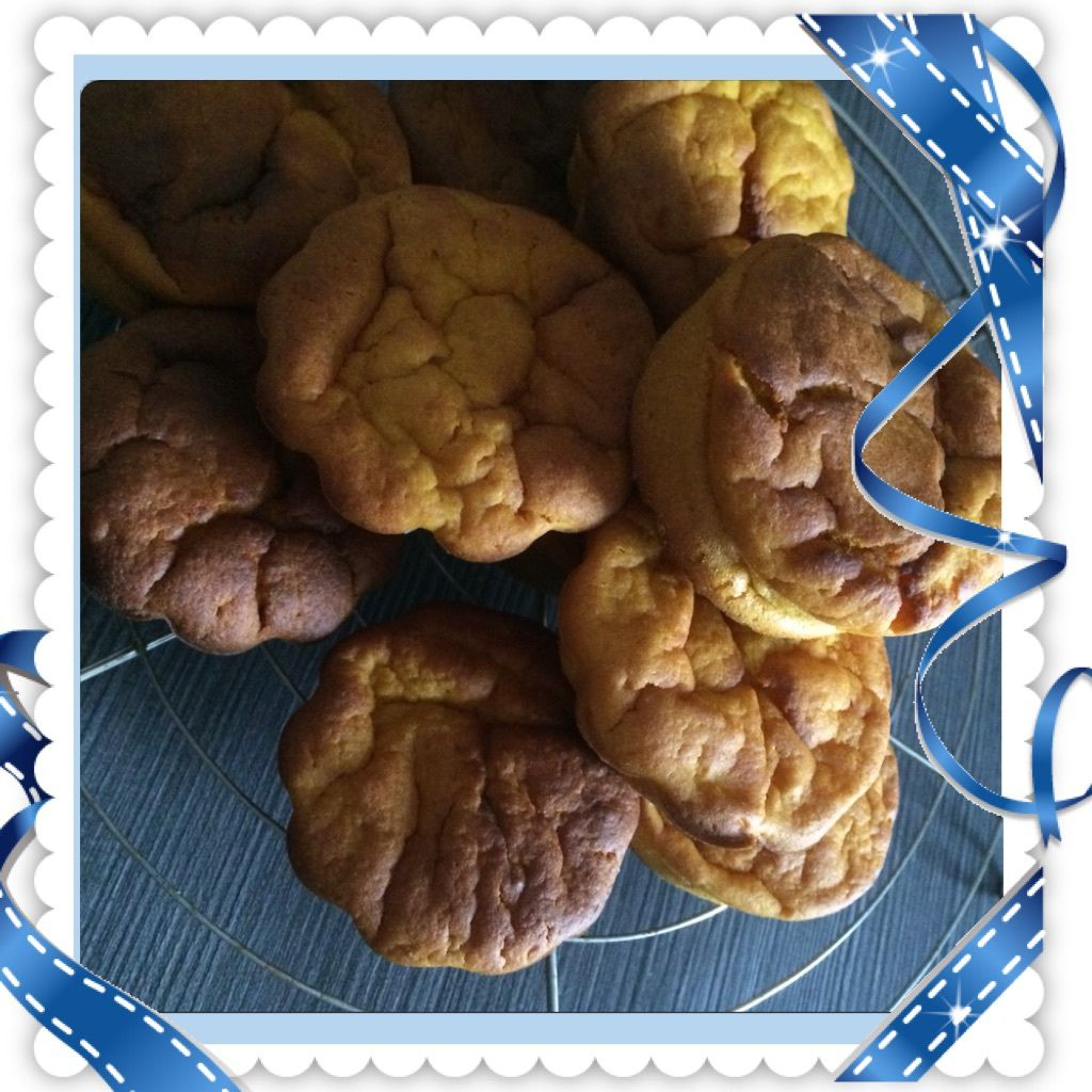 Muffins tout orange