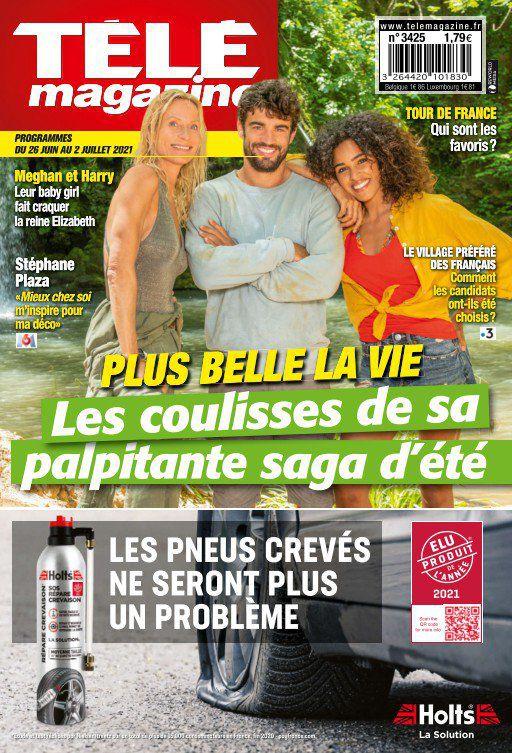 La une des nouveaux numéros de la presse TV : Tour de France, Plus belle la vie, Mylène Farmer...