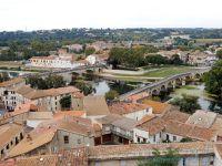 La cathédrale Saint-Nazaire - Béziers, canal du midi en camping-car