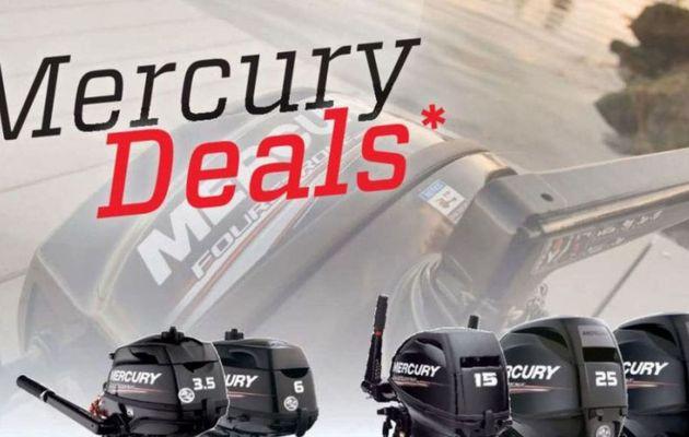 Printemps de promotions sur les moteurs transportables chez Mercury Marine