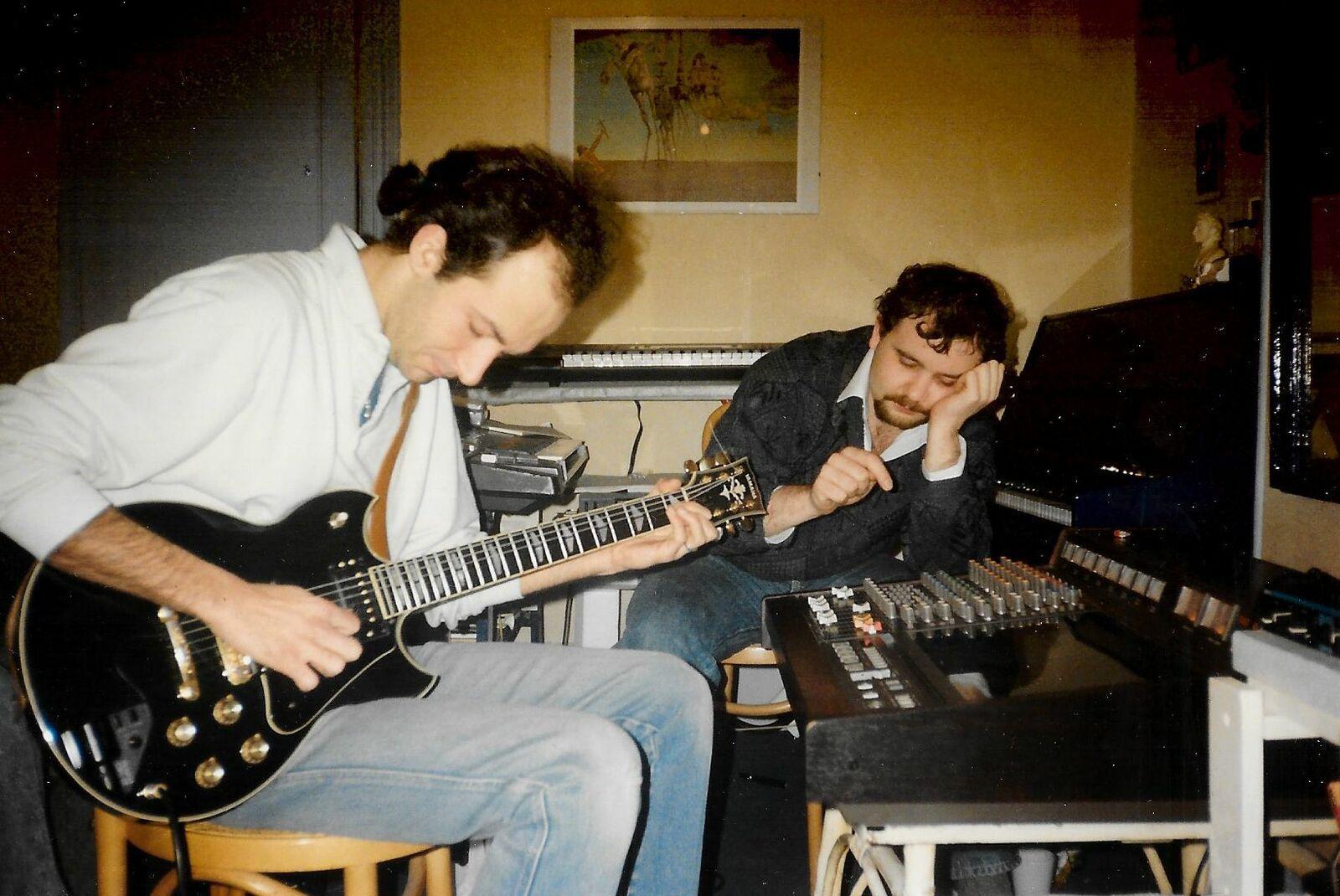 Edouard Poujaud and Rémy Hennequin, Paris 1988
