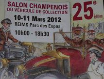 Salon Champenois, Reims, 10 et 11 Mars 2012