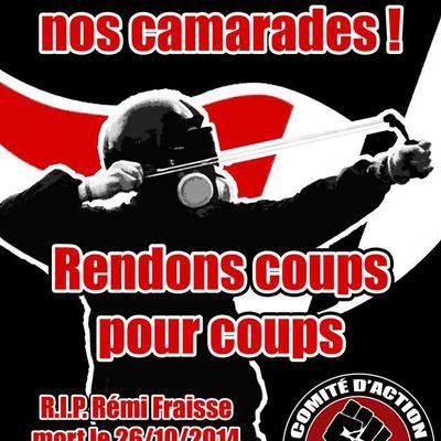 Assassinat de Remi Fraisse : ni oubli, ni pardon