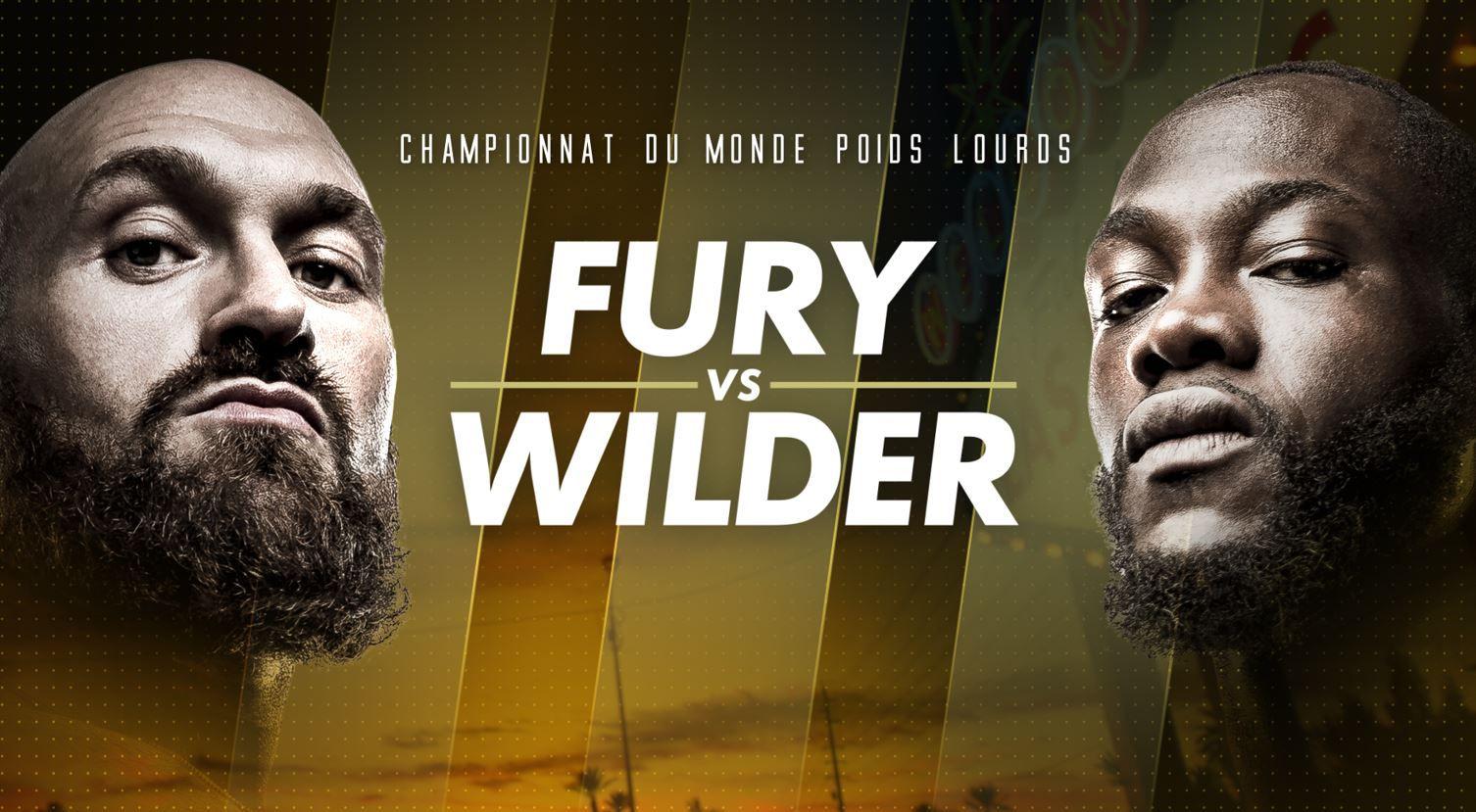 Reporté : Wilder vs Fury, en direct et en exclusivité sur Canal Plus le 24 juillet