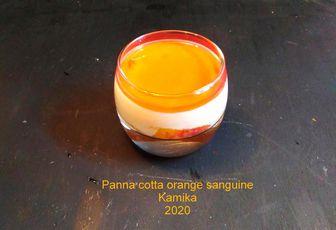 PANNA COTTA A L'ORANGE SANGUINE