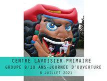 Centre LAVOISIER Primaire. Groupe 8/10 ans. Juillet 2021.