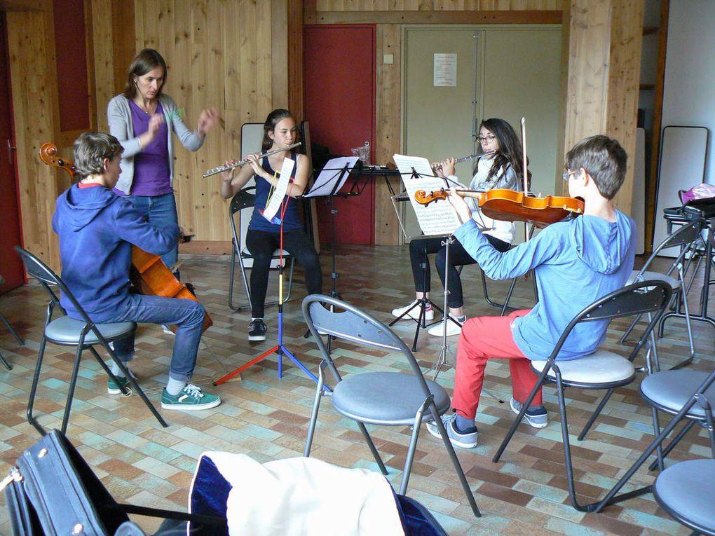 Stage de musique d'ensemble du 26 avril au 2 mai 2015