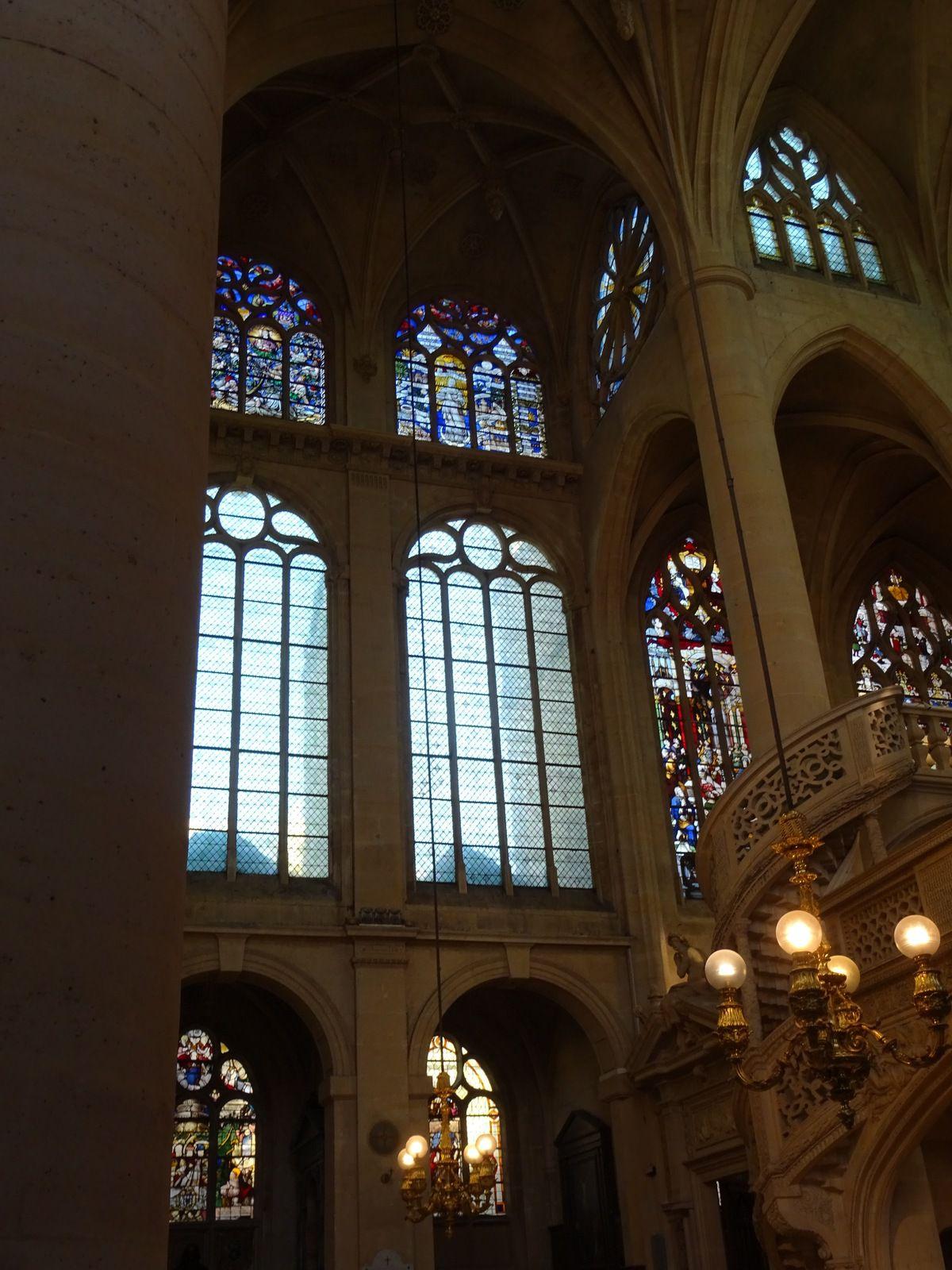 église Saint Etienne du Mont - Sainte geneviève