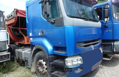 Ensemble Routier TRR RVI SREM Benne Ejection