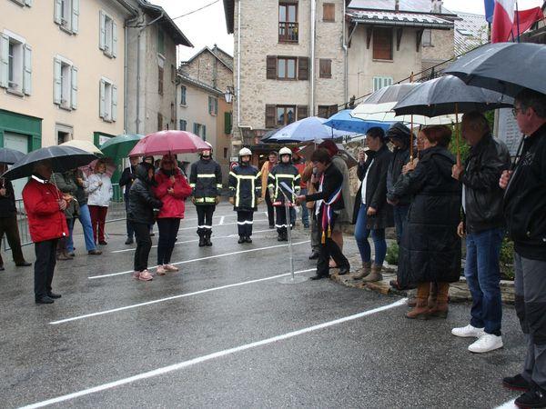 Beauvezer : commémoration du 8 mai