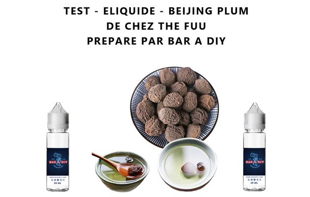 Test - Eliquide - Beijing Plum de chez The Fuu