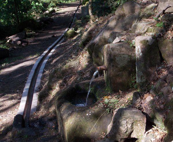 La Fontaine Lucie et sa rigole