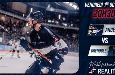 Angers / Grenoble (Hockey) Sur quelle chaîne suivre la rencontre vendredi ?