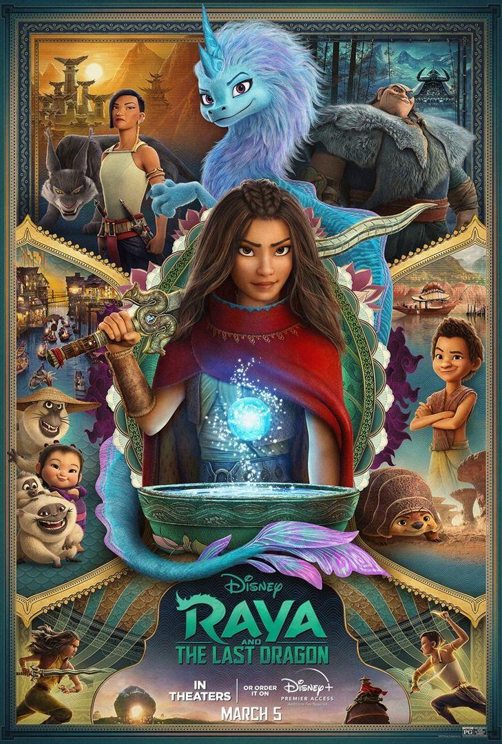 Critique Ciné : Raya et le dernier dragon (2021)