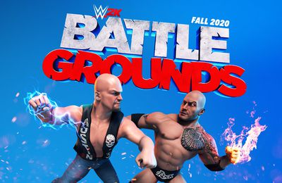 Test : WWE 2K Battlegrounds