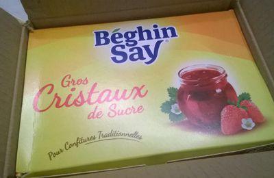 J'AI TESTE LE SUCRE GROS CRISTAUX BEGHIN SAY..CONFITURE D'ABRICOTS..
