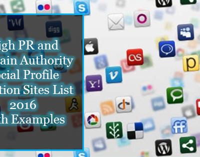 List of High Domain Authority Do-Follow Backlinks Sites
