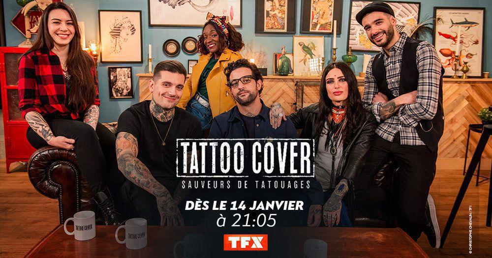 """Un numéro inédit de """"Tattoo Cover : Saveurs de tatouages"""" ce soir sur TFX"""