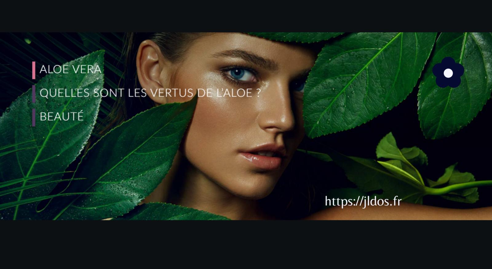 BEAUTÉ NATURELLE: L'ALOE TE REND BELLE
