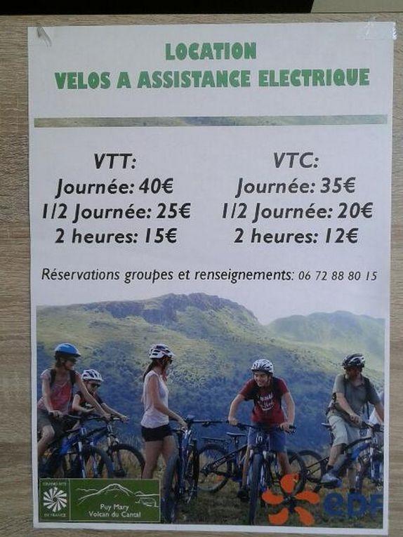Sortie vélos électriques.