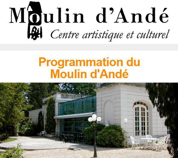 IL SE PASSE TOUJOURS QUELQUE CHOSE AU MOULIN D'ANDÉ