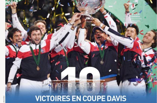 L'Equipe met en vente vendredi un hors-série Coupe Davis.