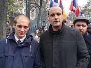 Le Parti de la France présent cet après-midi à la manifestation contre l'islamisme à Paris