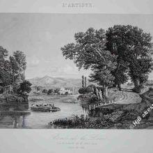 Victor Marie Félix Danvin (1802-1842) peintre en Auvergne