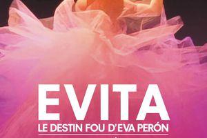 EVITA, LE DESTIN FOU D'EVA PERÓN au Théâtre de Poche Montparnasse !