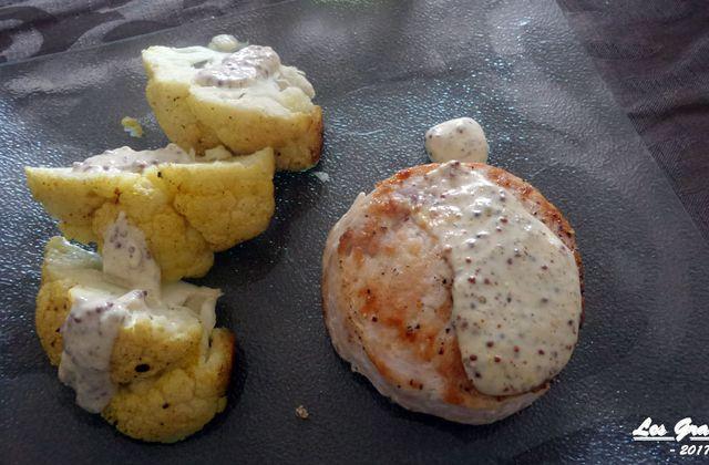 Recette : tournedos de dinde à la moutarde