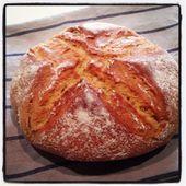 Mon pain cocotte facile... Ou le bonheur de faire son pain soi même ! - Le blog de cuisineetcitations-leblog